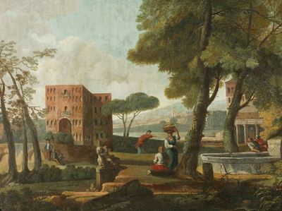 Classical Landscape with a Sphinx
