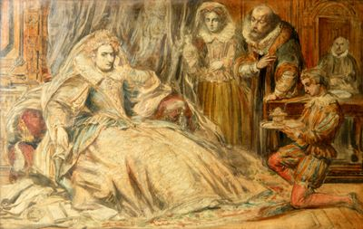 Elizabeth I and Courtiers