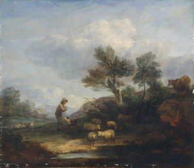 Landscape with Sheep