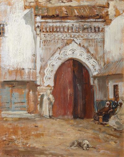 The Prison Gate, Mogador, Morocco