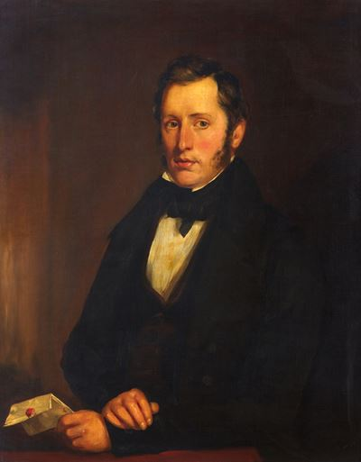 Andrew Wemyss (1806–1858), Councillor, Treasurer, Lord Dean of Guild and Benefactor of Trinity Hospi