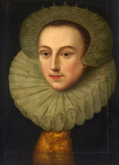 Portrait of an Unknown Lady in Early Seventeenth-Century Dress