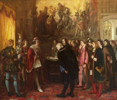 The Granting of a Royal Charter by King James III to the Provost, Bailies and Councillors of the Bur
