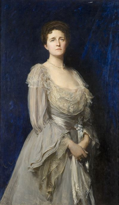 Mrs Edwin Tate (1853–1935) (The Lady in Grey)