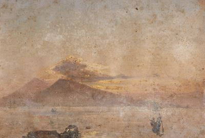 Vesuvius from Seaward