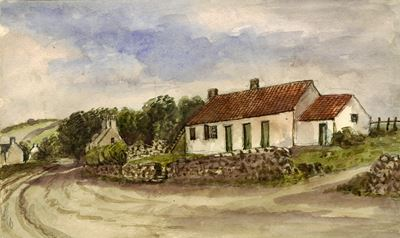 Cottage on the Hill's Farm, Bannockburn