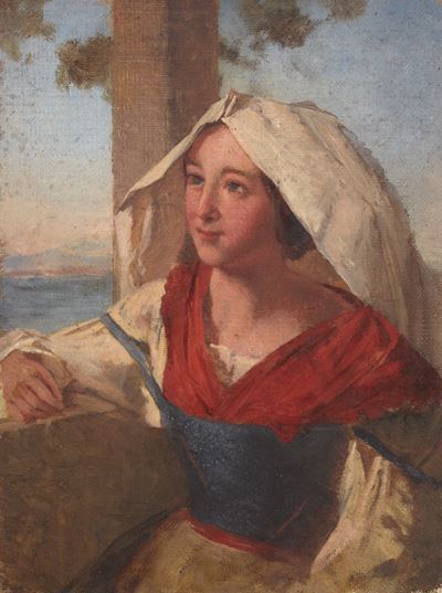Portrait of a Woman at the Window