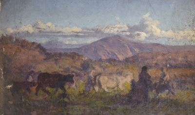Landscape with Drovers and Cattle