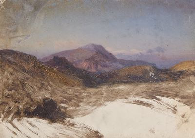 Study for a Mountain Landscape