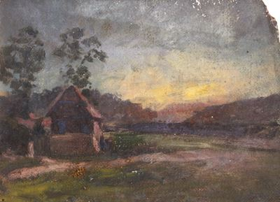 Cottage in a Landscape