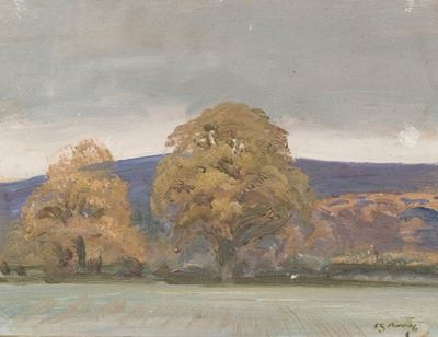 A Landscape with Trees on the Edge of a Field