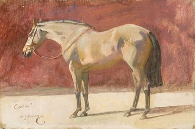 'Cheena', a Study of Lady Munnings' Mare