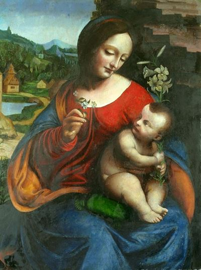 Virgin and Child with a Lily