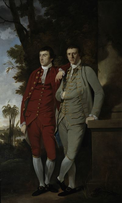 Charles and Captain John Sealy