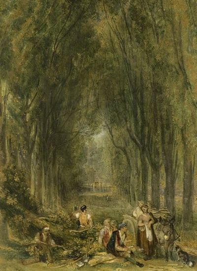The Lime Walk at Weston, Buckinghamshire