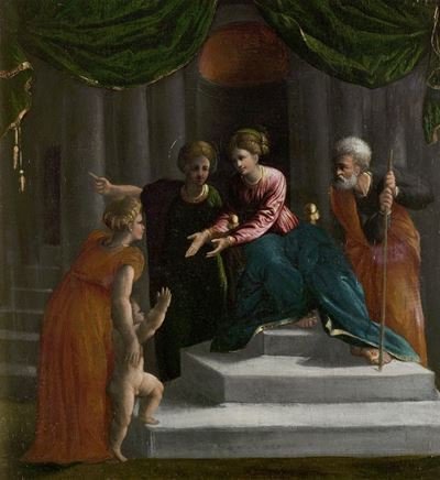 The Christ Child Learning to Walk (Presentation in the Temple)