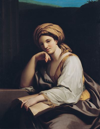 A Sibyl with a Book