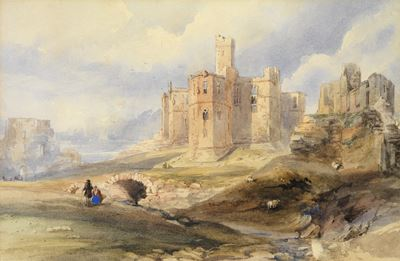 A Ruined Castle in a Landscape