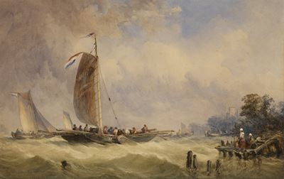 Dutch Ferry Boat