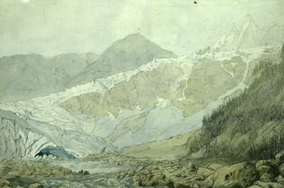 Source of the Averon and Mer de Glace