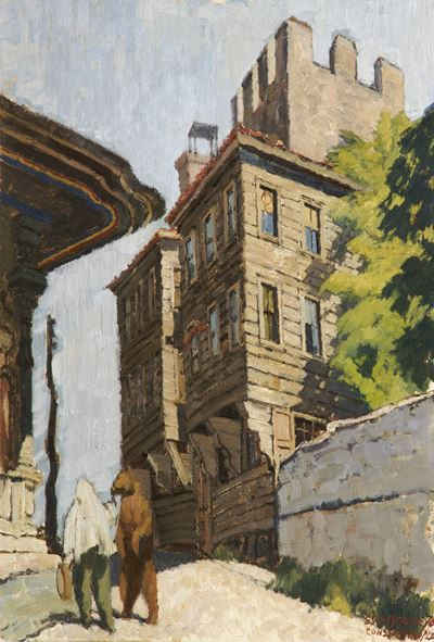 Old Houses and a Dancing Bear, Constantinople