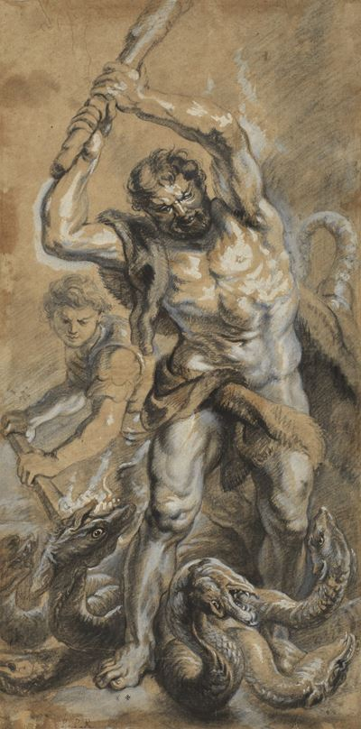 Hercules Killing the Lernaean Hydra