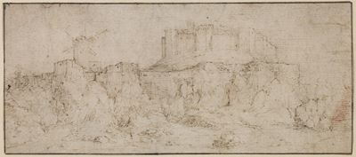 Landscape with a Castle on a Rock