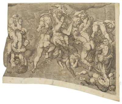 Scene from 'The Last Judgment'