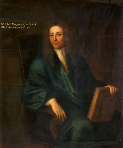 Sir Thomas Molyneux (1661–1733), Bt, FRS