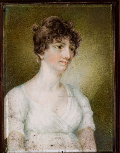 Portrait of a Lady of the Gervais Family