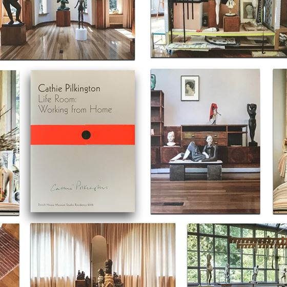 Cathie Pilkington 'Life Room: Working from Home' postcards – 8-piece set